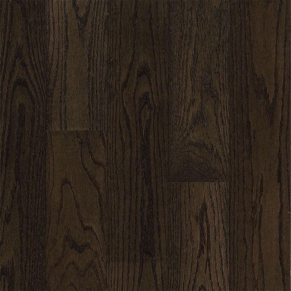 Bruce Turlington Signature Engineered 5 Northern Red Oak Espresso (Sample) Hardwood Flooring