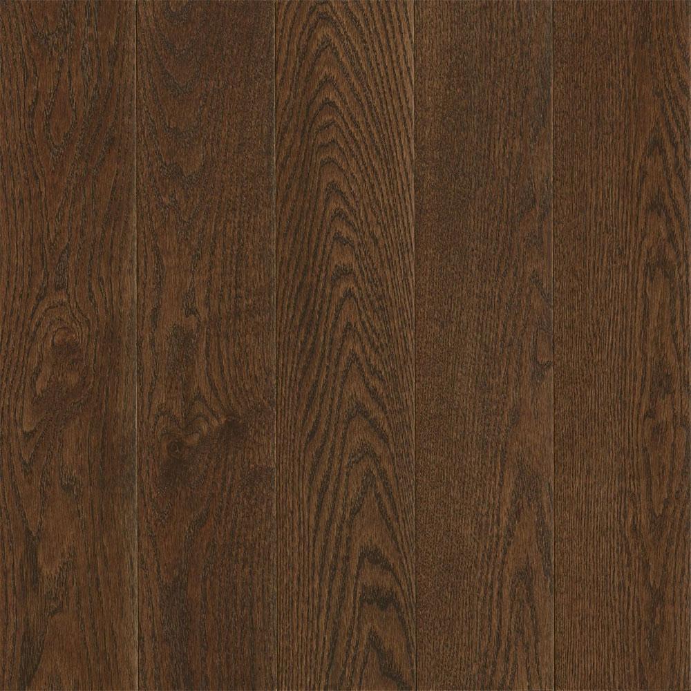 Bruce Turlington Signature Engineered 5 Northern Red Oak Mocha (Sample) Hardwood Flooring