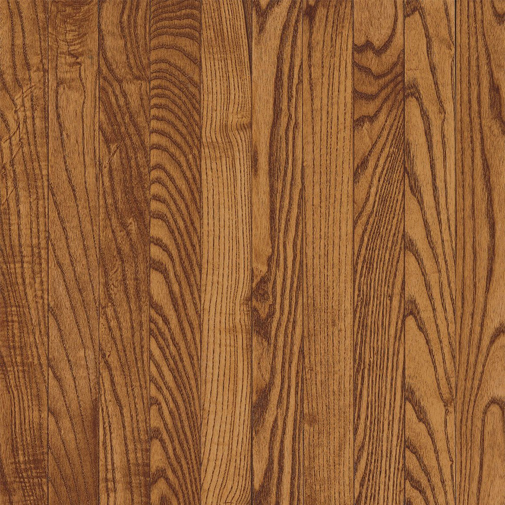 Bruce Westchester Solid Strip Oak 2 1/4 Gunstock (Sample) Hardwood Flooring
