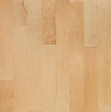 Century Flooring Rutledge Maple with Uniclic 5 1/4 Inch Natural Maple Hardwood Flooring