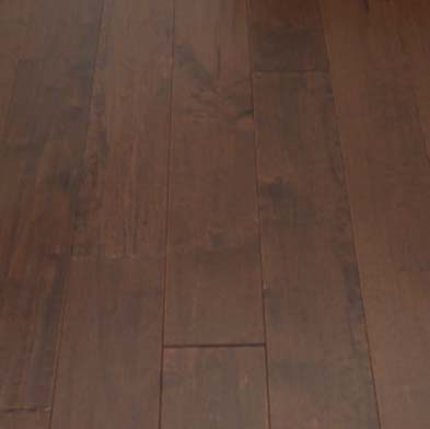 Chesapeake Flooring Pacific Pecan Solid 4 1/2 Inch Roasted Pecan Hardwood Flooring