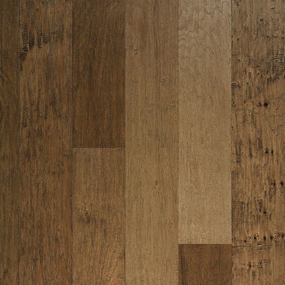Columbia Amelia Hand Sculpted Solid 5 Log Cabin Hickory Hardwood Flooring
