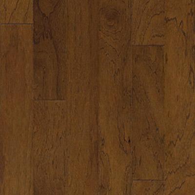 Harris Woods Engineered / Beveled - Traditions 5 Rustic Pecan Dark Mustang Hardwood Flooring