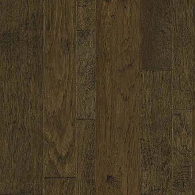 Harris Woods Highlands Handscraped Hickory Umber Hardwood Flooring