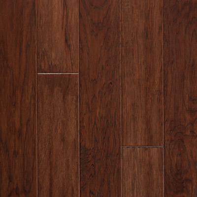 Harris Woods Engineered / SpringLoc - Today Hickory Dark Cognac Hardwood Flooring