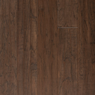 Harris Woods Engineered / SpringLoc - Today Hickory Sterling Grey Hardwood Flooring