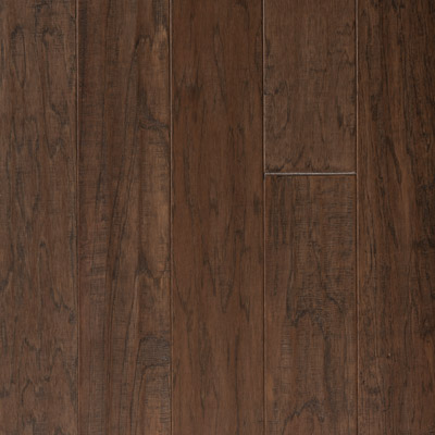 Harris Woods Trailhouse Hickory 5 Handscraped Hickory Sterling Grey Hardwood Flooring