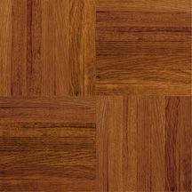 Armstrong Urethane Parquet Wood - Contractor/Builder Cinnabar Hardwood Flooring