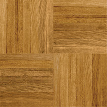 Armstrong Urethane Parquet Wood - Contractor/Builder Tawny Spice (Sample) Hardwood Flooring