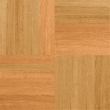 Armstrong Urethane Parquet Wood - Natural and Better Standard (Sample) Hardwood Flooring