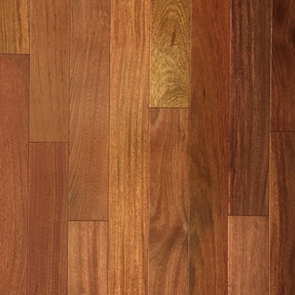 Hawa Exotic Solid 3-5/8 Santos Mahogany Clear Hardwood Flooring
