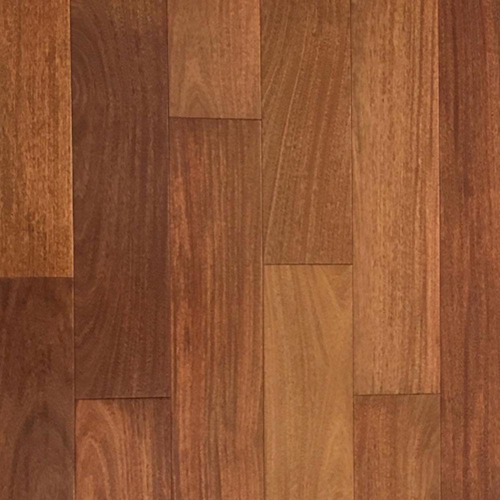Hawa Exotic Solid 4-7/8 Santos Mahogany Clear Hardwood Flooring