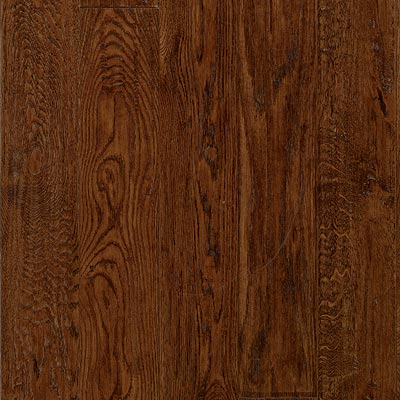 Junckers Engineered 5-11/32 x 7 White Oak Espresso - Handscraped Hardwood Flooring