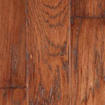 LM Flooring Gevaldo Handscraped 5 Tobacco Hickory Hardwood Flooring