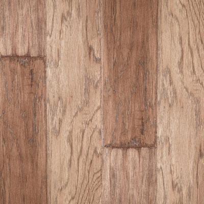 LM Flooring River Ranch Hand Scraped 5 Hickory Barley Hardwood Flooring
