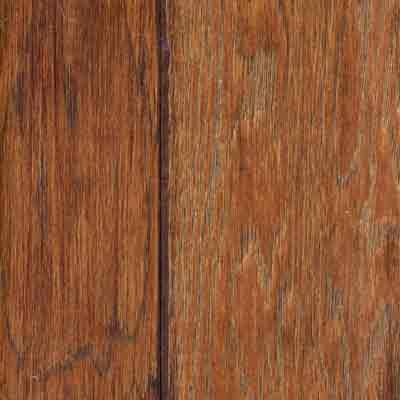 Mannington Inverness - Kings Grove Hickory English Leather (Sample) Hardwood Flooring