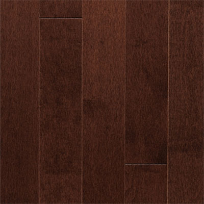 Mercier Design Classic Grade Red Oak Engineered 4.5 Autumn Satin (Sample) Hardwood Flooring