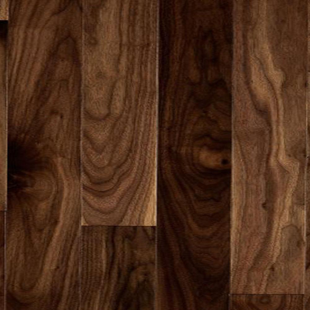 Mercier Exotic American Engineered 3.25 American Walnut Natural Semi-Gloss (Sample) Hardwood Flooring