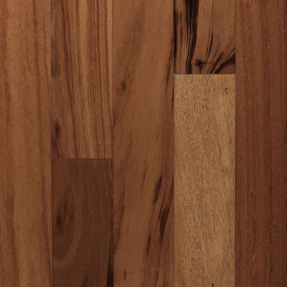 Mercier Exotic Solid 3.25 TigerWood Natural Semi-Gloss (Sample) Hardwood Flooring