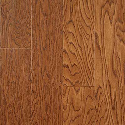 Mullican Austin Springs 5 Handsculpted Loc-2-Fit Oak Saddle (Sample) Hardwood Flooring