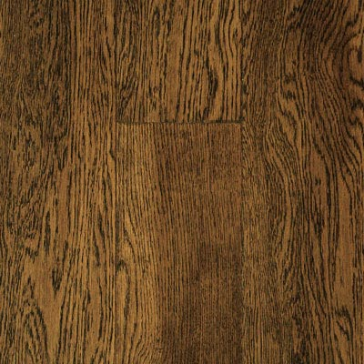 Mullican Austin Springs 5 Handsculpted Loc-2-Fit Oak Ebony (Sample) Hardwood Flooring