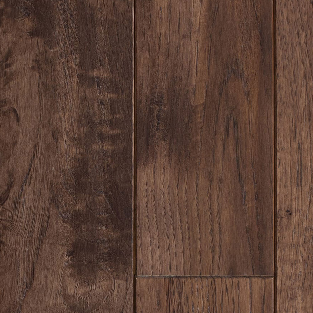Mullican Chatelaine Hand Sculpted 4 Hickory Burnt Umber (Sample) Hardwood Flooring