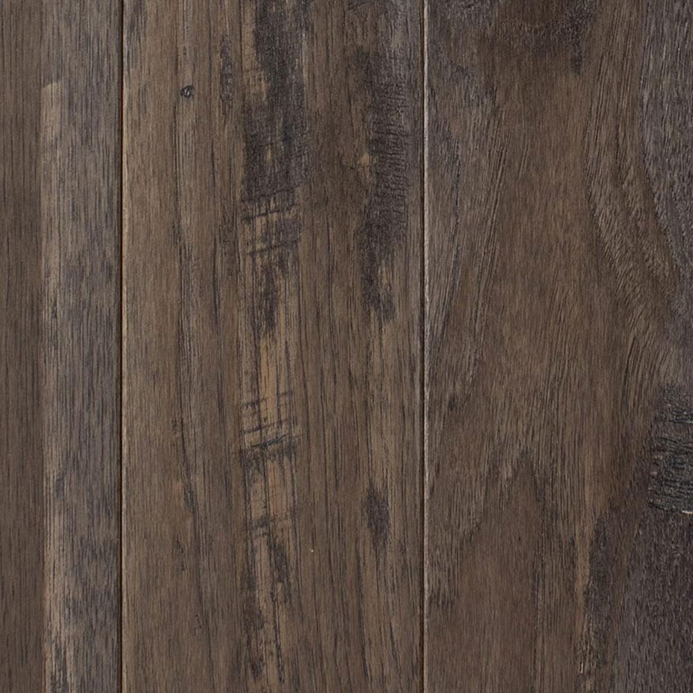 Mullican Chatelaine Hand Sculpted 4 Hickory Granite (Sample) Hardwood Flooring
