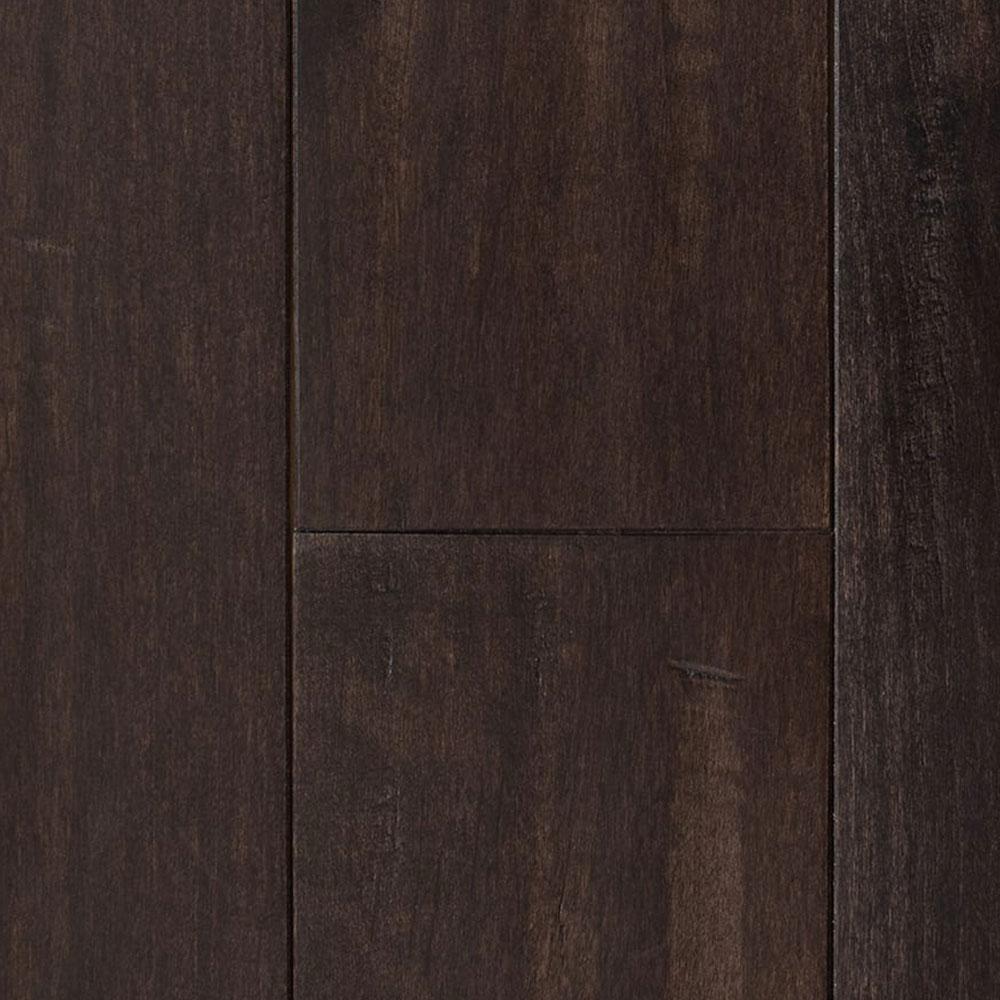 Mullican Chatelaine Hand Sculpted 4 Maple Dark Mocha (Sample) Hardwood Flooring