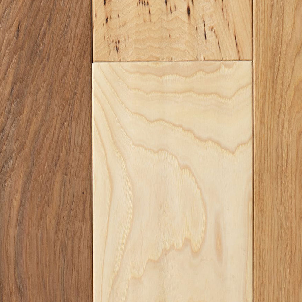 Mullican Chatelaine Hand Sculpted 4 Natural Hickory (Sample) Hardwood Flooring