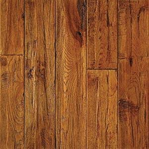 Mullican Chatelaine Hand Sculpted 4 Sundance Hickory (Sample) Hardwood Flooring