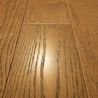 Mullican Frontier Wire Brushed Solid 4 Oak Butternut Hardwood Flooring