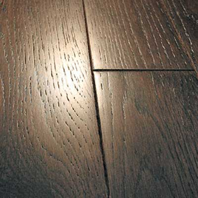 Mullican Frontier Wire Brushed Solid 5 Oak Midnight Cherry Hardwood Flooring