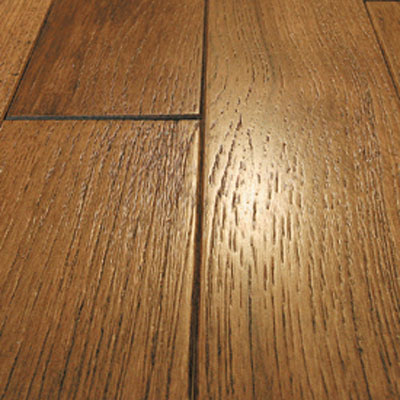Mullican Frontier Wire Brushed Solid 5 Hickory Champange Hardwood Flooring