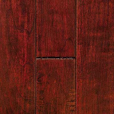 Mullican Knob Creek Hand Sculpted 3 Cherry Mocha Hardwood Flooring