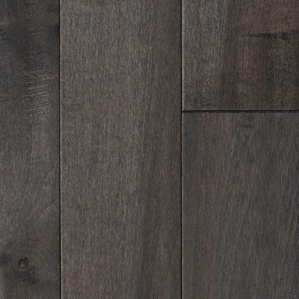 Mullican Knob Creek Hand Sculpted 4 Maple Slate (Sample) Hardwood Flooring