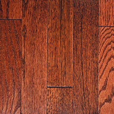 Mullican Muirfield - Four Sided Bevel 2.25 Oak Merlot Hardwood Flooring