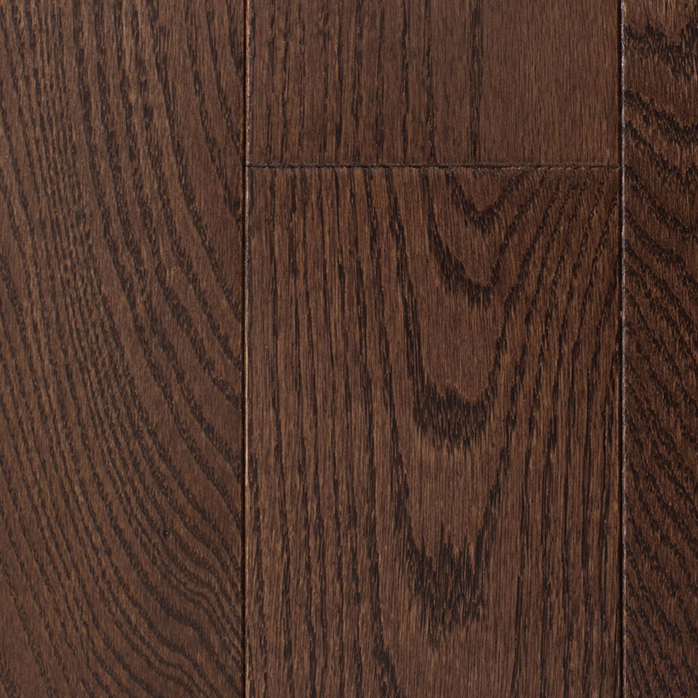 Mullican Muirfield - Four Sided Bevel 2.25 Oak Dark Chocolate Hardwood Flooring