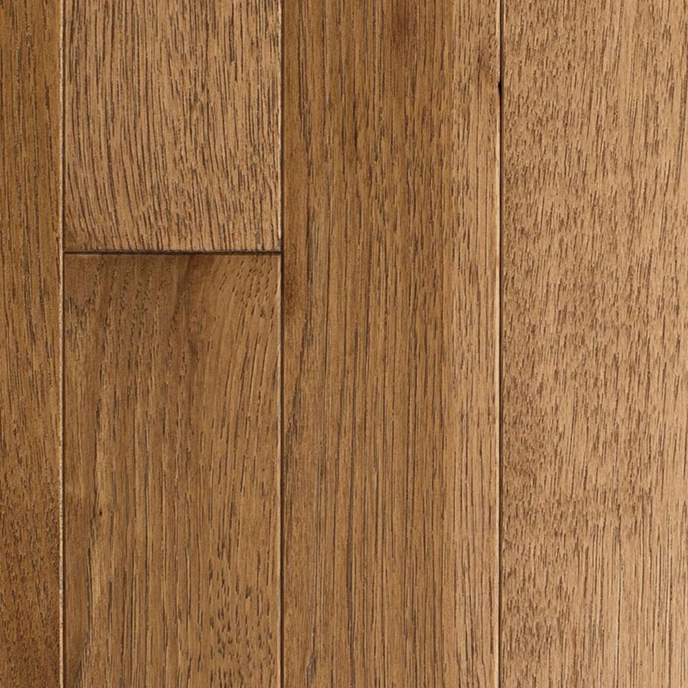 Mullican Muirfield 4 Hickory Saddle (Sample) Hardwood Flooring