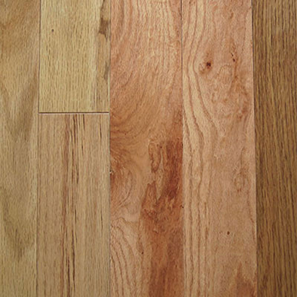 Mullican Oak Pointe 2 1/4 Red Oak Natural (Sample) Hardwood Flooring