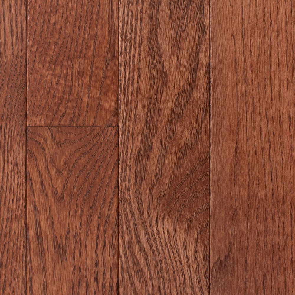 Mullican St. Andrews Oak 3 Red Oak Merlot Hardwood Flooring