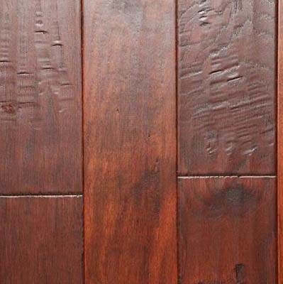 Nuvelle Bordeaux Collection Handscraped Acacia Walnut (Sample) Hardwood Flooring
