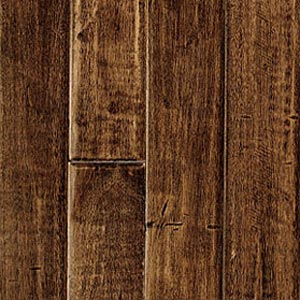 Pinnacle Forest Ridge Classics Hand Scraped Solid Charcoal (Sample) Hardwood Flooring