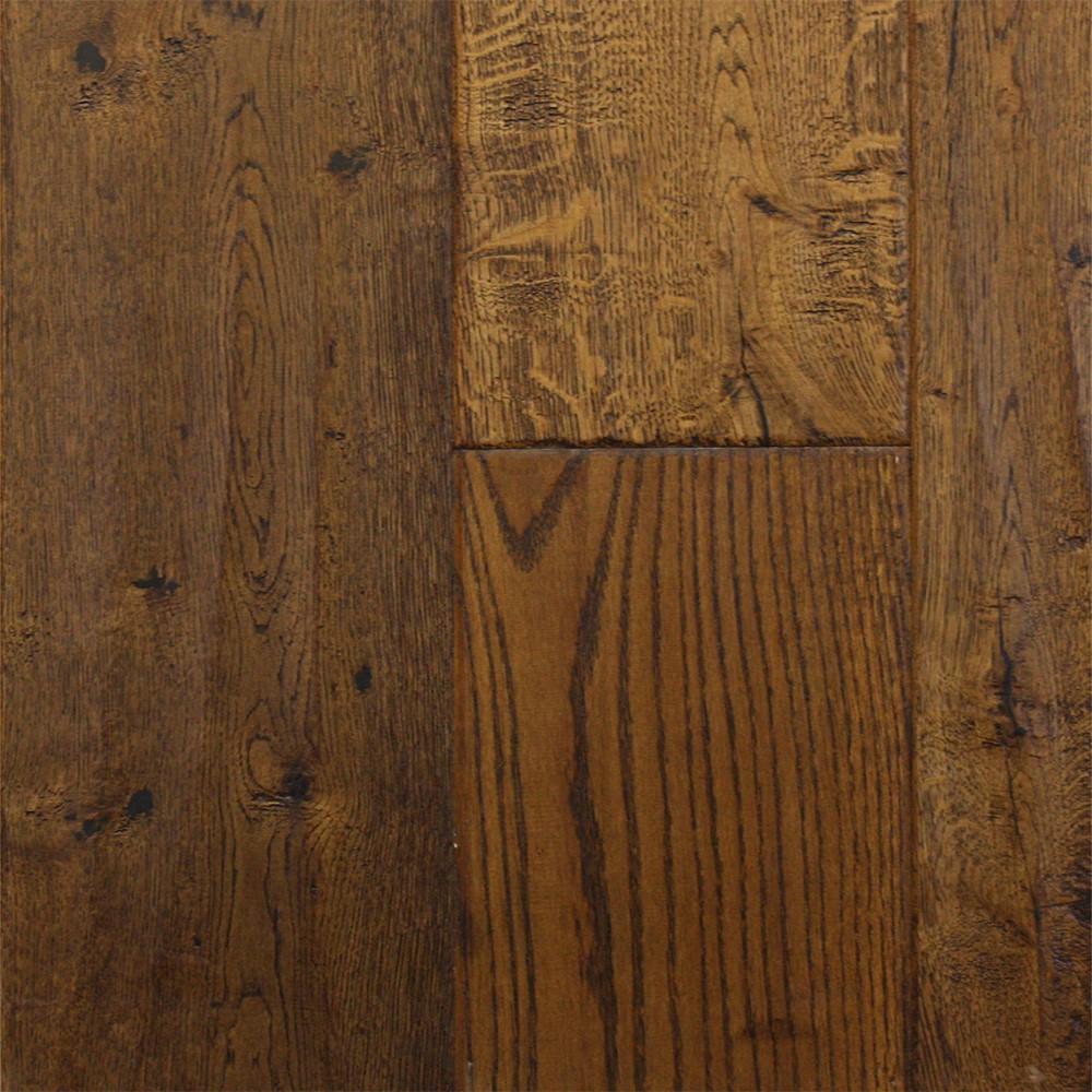 Pinnacle Grand Reserve Handscraped Bark (Sample) Hardwood Flooring