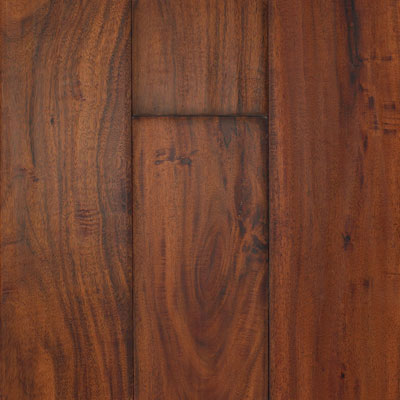 South Mountain Hardwood Santa Fe Engineered 4-3/4 Asian Walnut Golden Sierra Hardwood Flooring