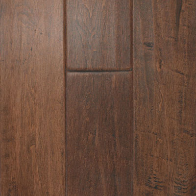 South Mountain Hardwood Santa Fe Engineered 4-3/4 Maple Saddle Hardwood Flooring