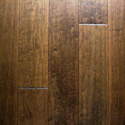 Stepco Majestic Contmeporary Scrape 5 Maple Walnut Hardwood Flooring