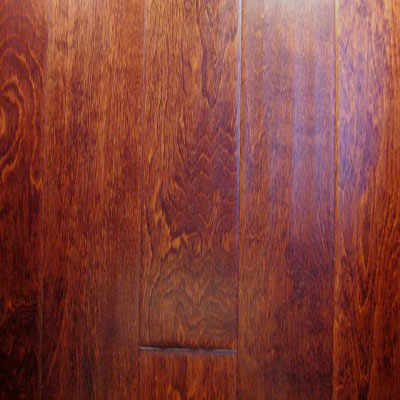 Stepco Majestic Handscraped 5 Maple Amaretto Hardwood Flooring