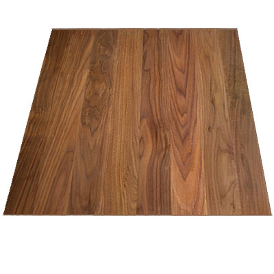 Stepco 4 Inch Wide Plainsawn Walnut Select & Better (Sample) Hardwood Flooring