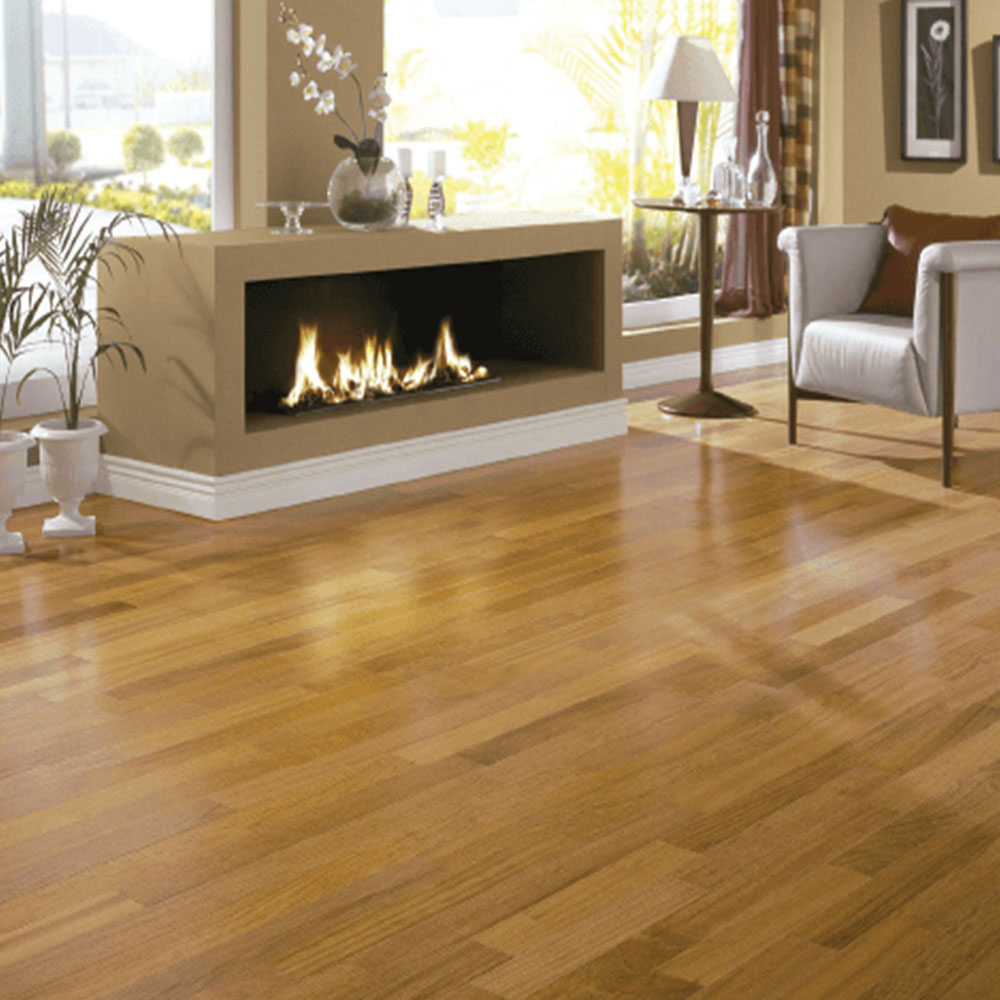 Triangulo Engineered 3/8 x 3-1/4 (200 Series) Jatoba (Brazilian Cherry) Hardwood Flooring