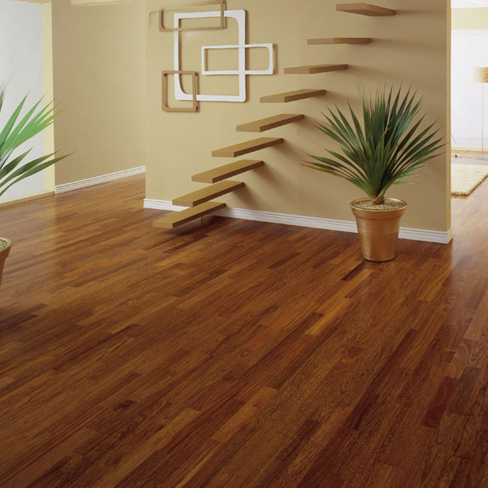 Triangulo Engineered 3/8 x 3-1/4 (200 Series) Brazilian Chestnut (Sucupira) Hardwood Flooring